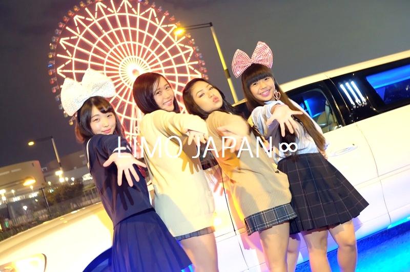 リムジンパーティー高校生制服パーティー (3)