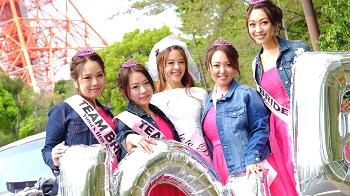 東京で撮影女子会するならリムジンパーティー東京