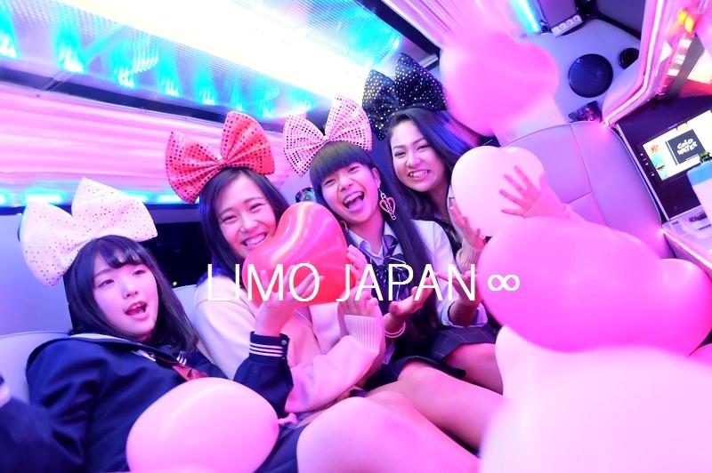 リムジンパーティー高校生制服パーティー (4)
